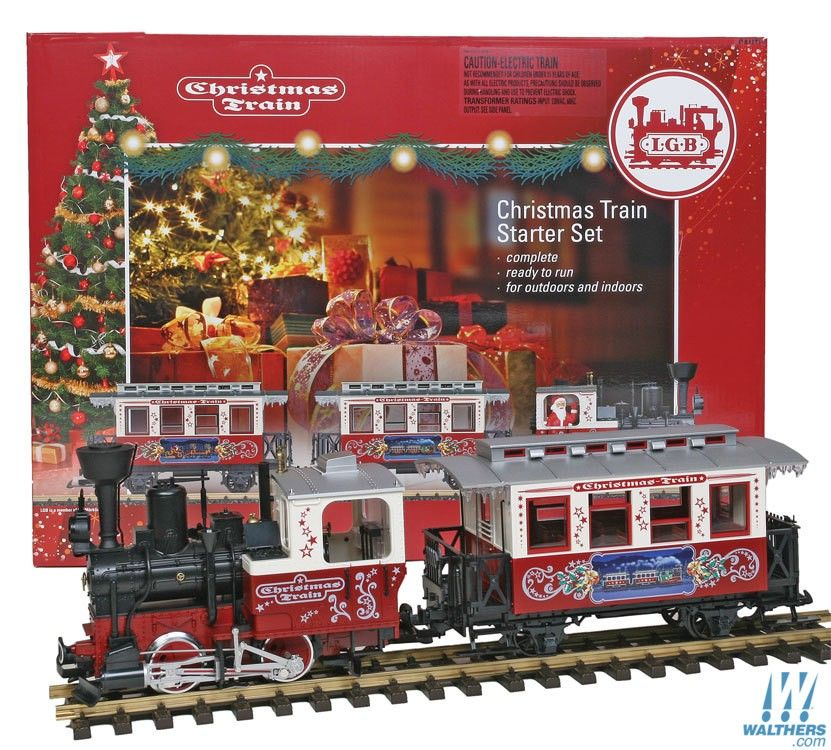 Christmas Train Starter Set - S
